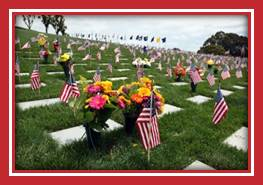 Veterans graveside services honor veterans who proudly served our country.