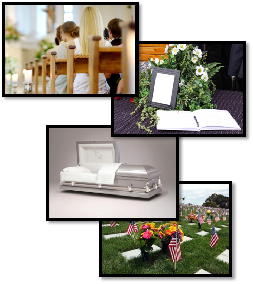 Funeral Collage